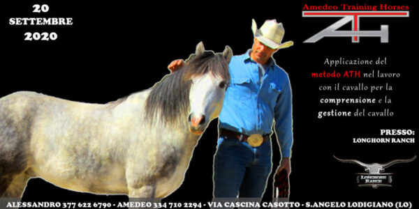 20 SETTEMBRE 2020 – LONGHORN RANCH – SANT'ANGELO LODIGIANO (LO)