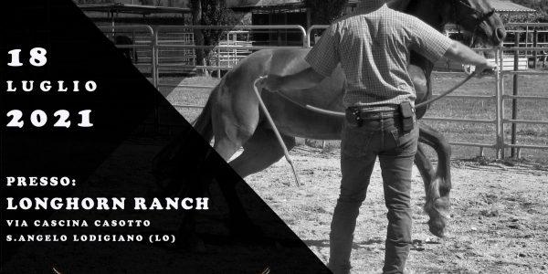 18 LUGLIO 2020 – LONGHORN RANCH – SANT'ANGELO LODIGIANO (LO)